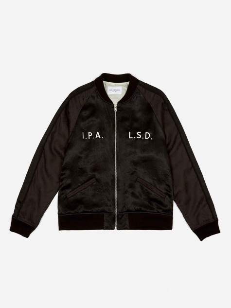 Satin Jacket - Black