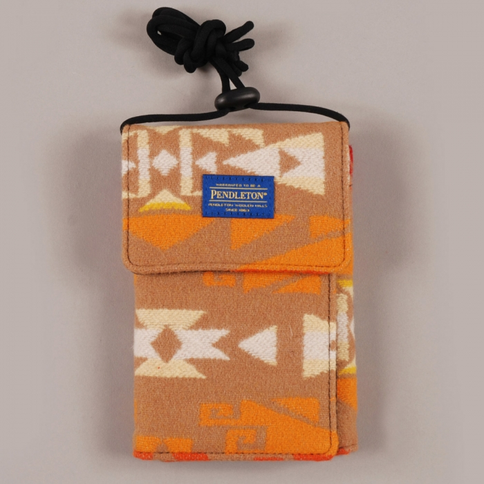 Pendleton Passport Wallet - Orange (Image 1)