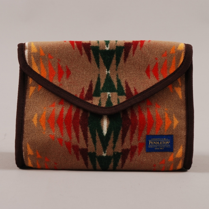 Pendleton Large Cosmetic Case - Tan (Image 1)