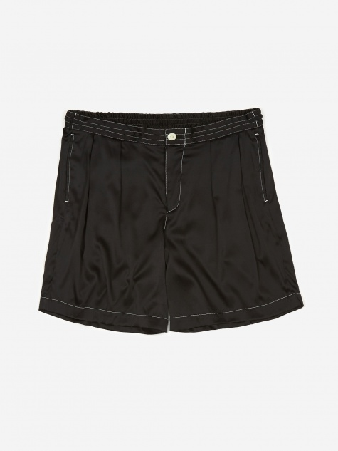 Sasquatchfabrix Silk Safari Shorts - Black