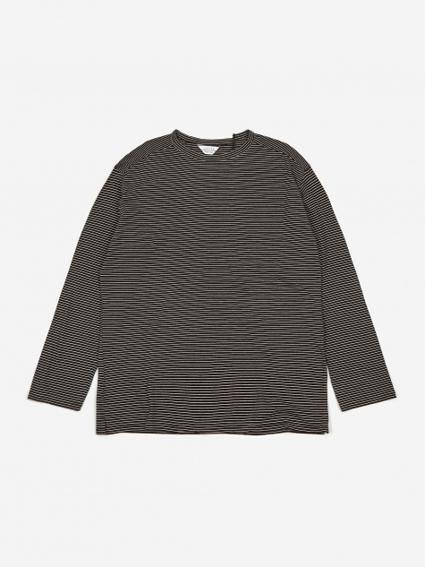 Striped Longsleeve T-Shirt - Black/White