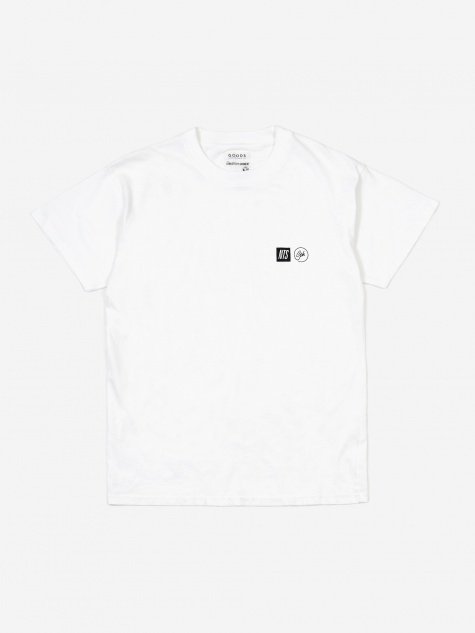 Goodhood x NTS No Posers T-Shirt- White