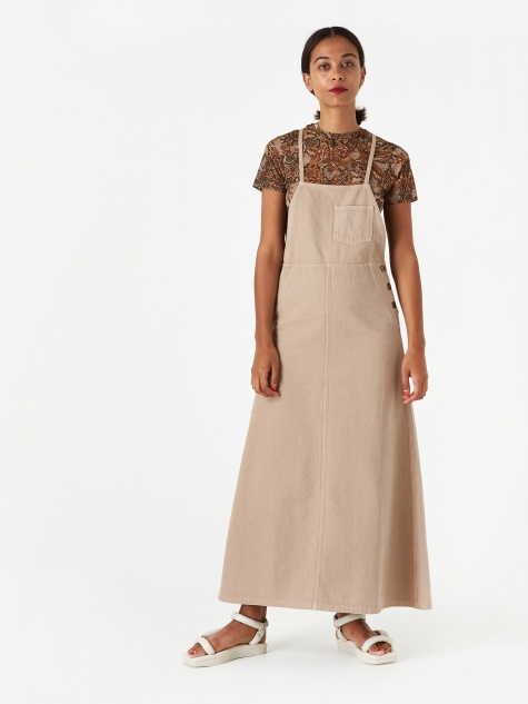 Estelle Dress - Taupe