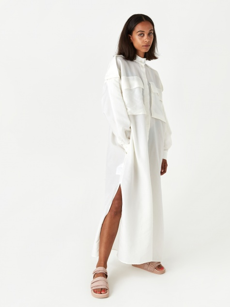 Marzia Dress - White