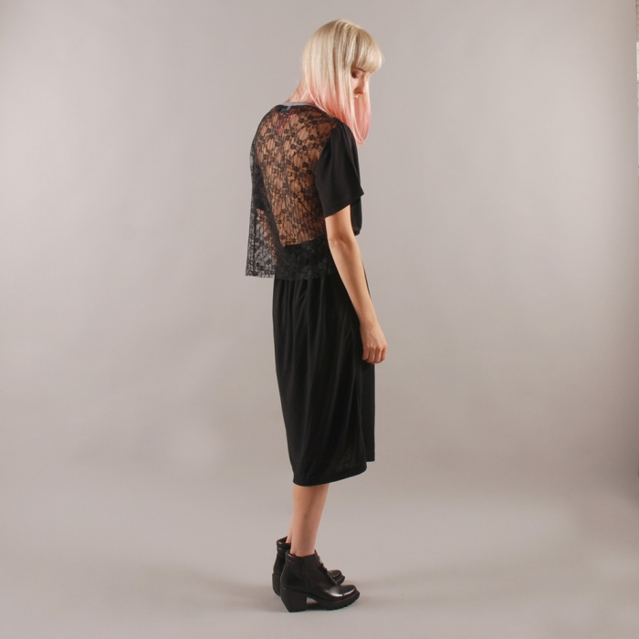 Goods By Goodhood Antipodium x Goodhood 5th Anniversary Lace Back Midi Dress - Bla (Image 1)