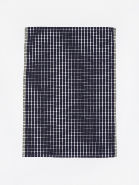 Hale Yarn Dyed Linen Tea Towels - Blue