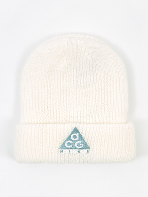 ACG Beanie Hat - Summit White/Aviator Black