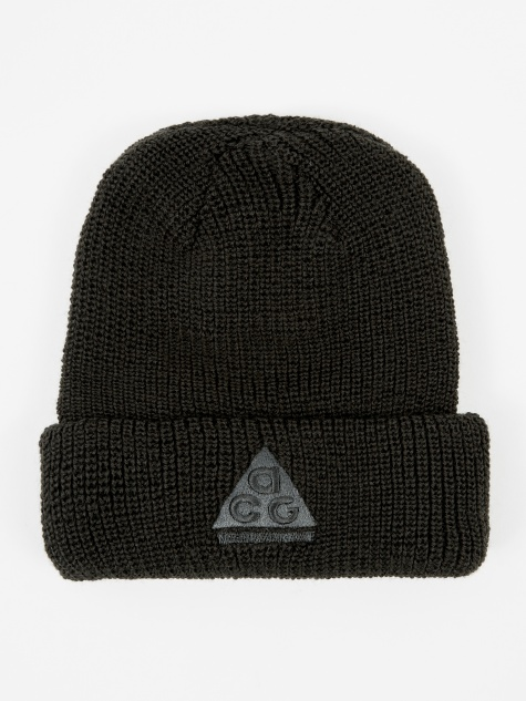 ACG Beanie Hat - Black/Black/Anthracite