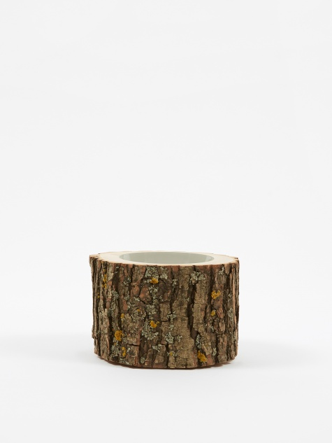 "Log Bowl 4.5""-5.5"" - Light Grey"