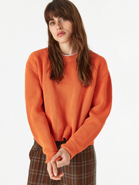 Knit Jumper - Orange