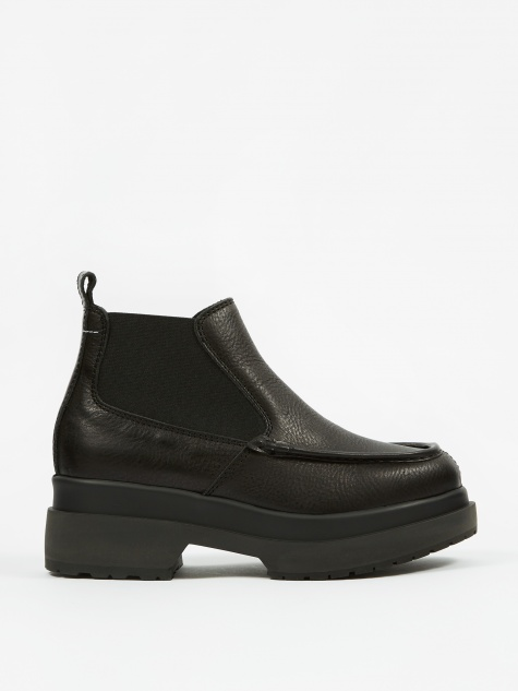 Double Sole Boots - Black