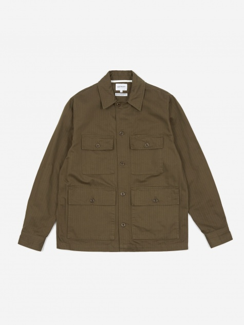 Mads Cotton Jacket - Ivy Green