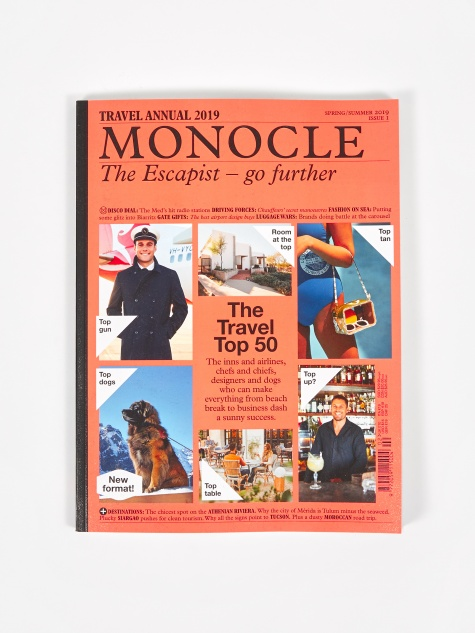 Monocle Travel Annual 2019 - Issue 1
