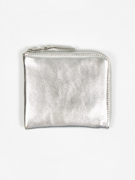 Comme des Garcons Wallet Classic Leather S (SA3100G) - Silver