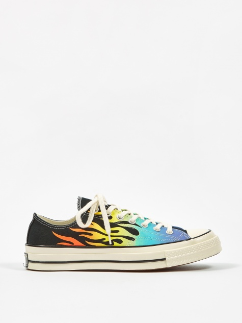 Chuck Taylor All Star 70 Ox - Black/Turf Orange/Egret
