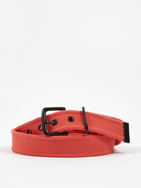 Woven Army Belt - Red