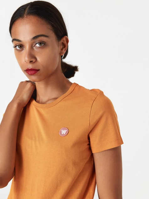 Uma Shortsleeve T-Shirt - Orange