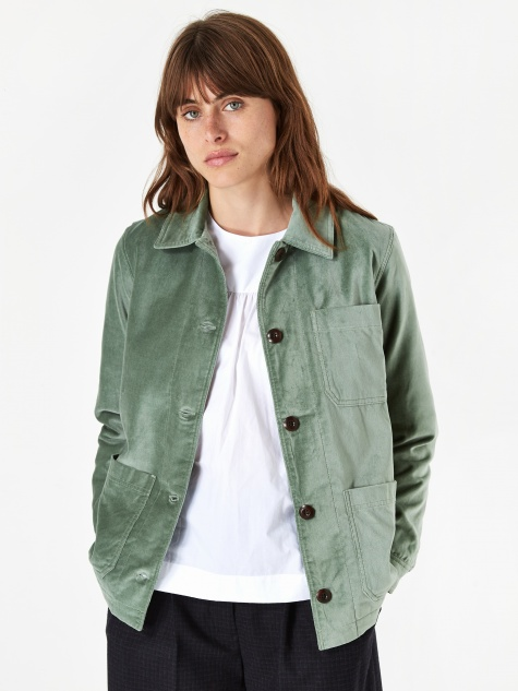 Judy Jacket - Dusty Green
