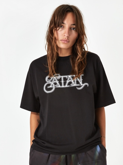 Satan Shortsleeve T-Shirt - Black