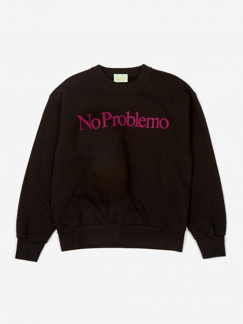 No Problemo Sweatshirt - Black