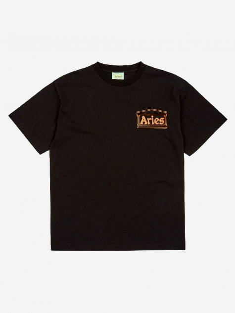 Temple Shortsleeve T-Shirt - Black