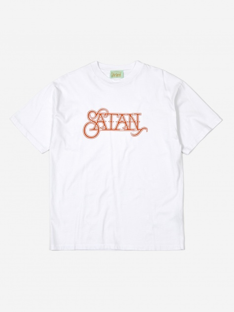Satan Shortsleeve T-Shirt - White