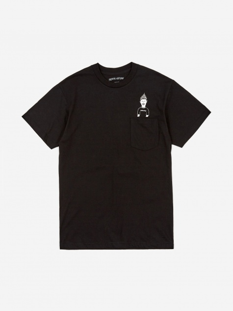 Ash Pocket Shortsleeve T-Shirt - Black