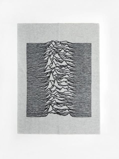 Goodhood x Joy Division x Tom Wood Blanket - White
