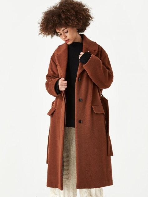 Olimpia Coat - Biscotto