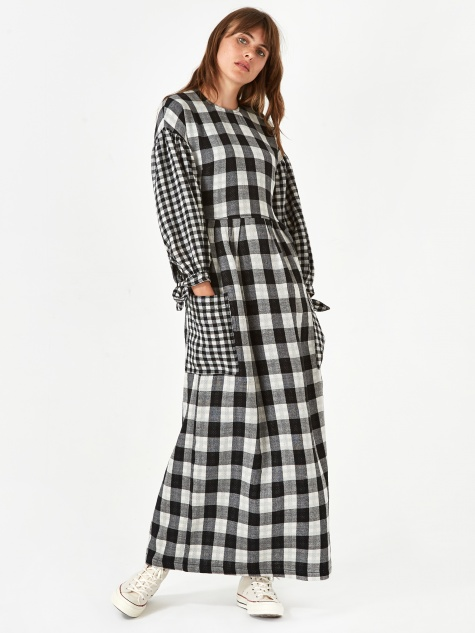 Joe Dress - Black Check