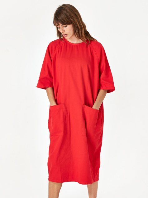 Alexandre Dress - Red