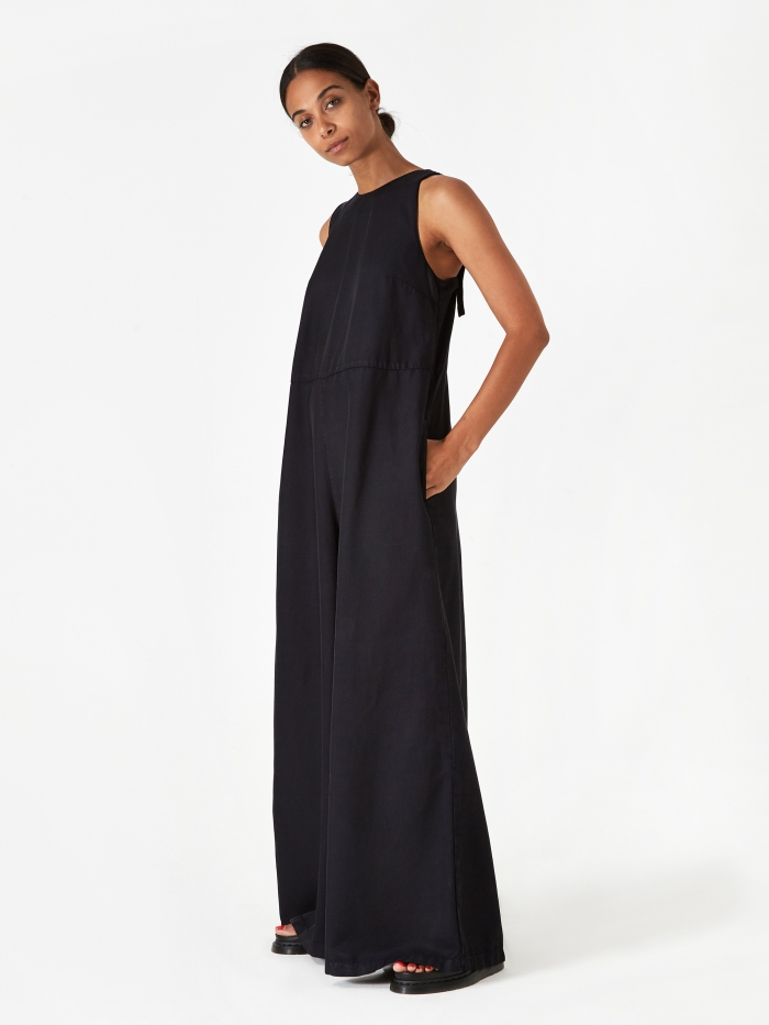 YMC Ziggy Jumpsuit - Black (Image 1)