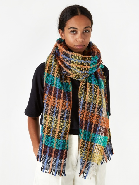 Check Scarf - Multi