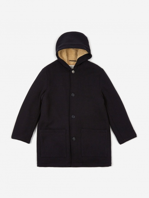 Beat Generation Duffle Coat - Navy