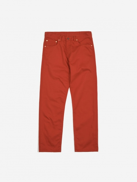 Levis Vintage Clothing 5 Pocket Sateen Trouser - Rooibus Tea
