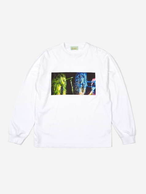 Metal Dude Longsleeve T-Shirt - White