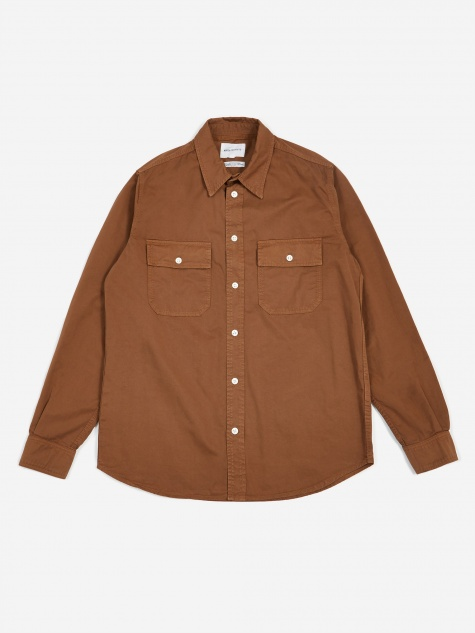 Villads Twill Shirt - Duck