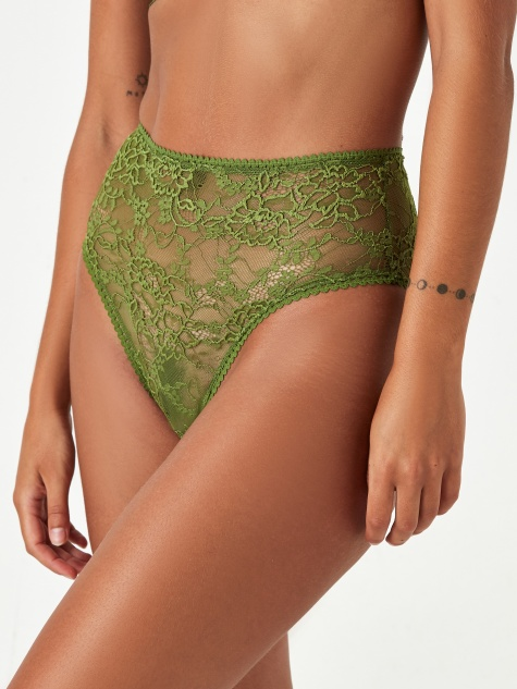 Kiki High Waist Brief - Meadow