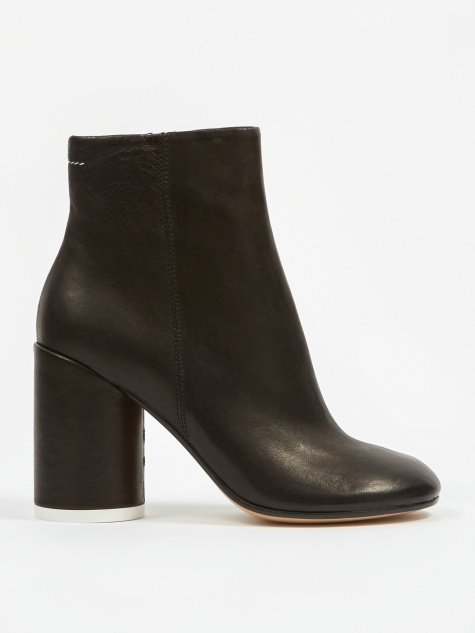 Heeled Boot - Black