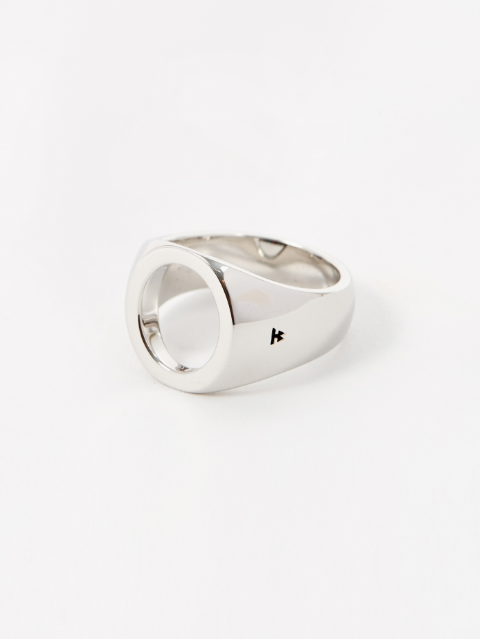 Tom Wood Oval Open Ring - Sterling Silver (Image 1)