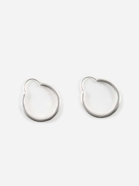 Hungry Snake Earrings - Polished 925 Sterling Silver