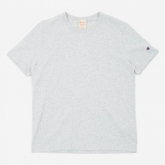 Champion Reverse Weave Crew Neck T-Shirt - Light Grey