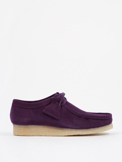 Clarks Wallabee - Deep Purple