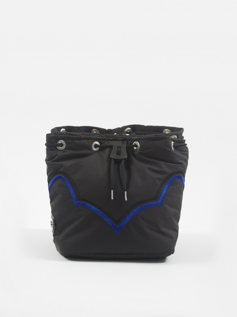 PULLA Drawstring Bag - Black