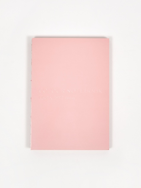 Colour Notebook - Pink