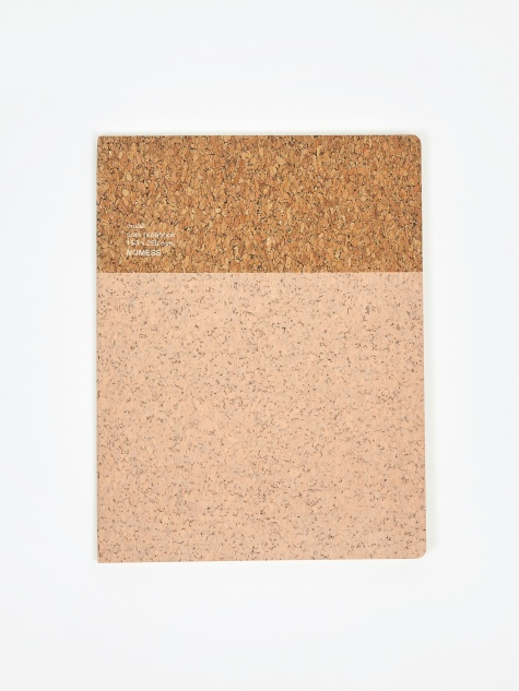 Cork Notebook Large - Nude