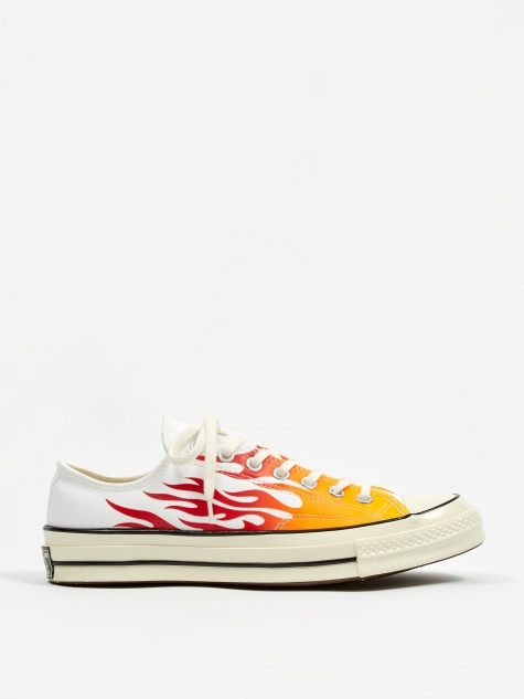 Chuck Taylor All Star 70 Ox Archive Prints - White/Red