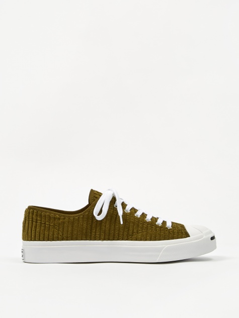 Jack Purcell Wide Wale Cord Ox - Olive/White/Black