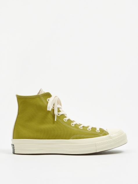 Chuck Taylor All Star 70 Renew Hi - Moss/Natural/Black