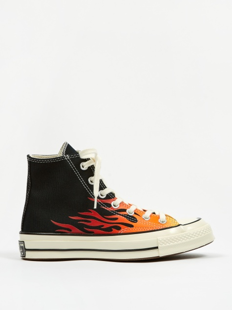 Chuck Taylor All Star 70 Archive Prints Hi - Black/Red